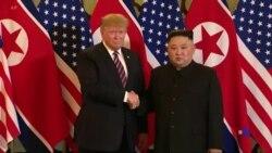 """特朗普稱北韓若去核將有""""極好"""" 發展潛力"""