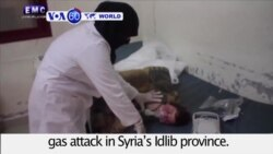 VOA60 World - Dozens Dead in Apparent Toxic Gas Attack in Syria