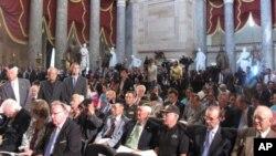 미 국회의사당에서 열린 한국전쟁 60주념 기념행사