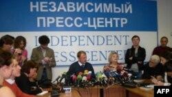 Пресс-конференция Алексея Дымовского
