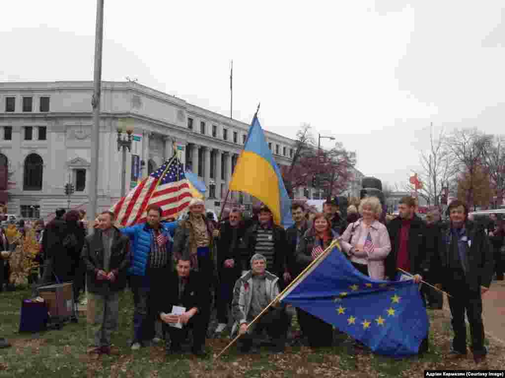 Вашингтон. Закладення меморіалу жертвам Голодомору