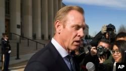 El presidente Donald Trump, el 9 de mayo, dijo que nominará a Shanahan como su segundo secretario de defensa.
