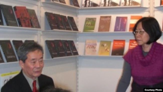 廖天琪與吳弘達在勞改基金會