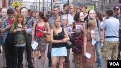 «Маски-шоу» на Невском проспекте