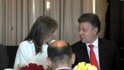 Juan Manuel Santos inicia gira oficial por Estados Unidos