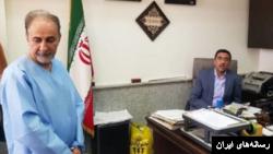 محمدعلی نجفی سیاستمدار سرشناس ایرانی که متهم به قتل همسرش است، برای انجام بازپرسی به دادسرای امور جنایی تهران منتقل شد