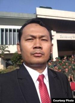 Director of the Indonesian Intelligence Institute, Ridlwan Habib. (Photo: Ridlwan H)