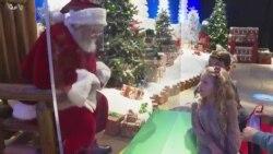 商场避免乐极生悲 圣诞老人也须防疫