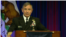 哈里斯上将2017年2月21日在海军西部会议上发言(美国国防部视频截屏)