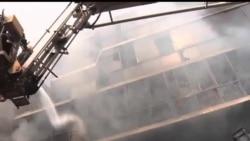2012-11-26 美國之音視頻新聞: 孟加拉再次發生服裝廠火災 無死亡報導