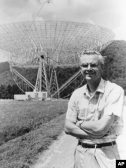 Frank Drake, in 1964, at the National Radio Astronomy Observatory in Green Bank, West Virginia.