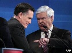 Mitt Romni, Nyut Gingrich
