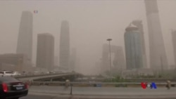 沙塵暴遮天蔽日 北京PM2.5飆升 (粵語)