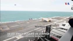 EE.UU. envía buques de guerra al golfo Arábico