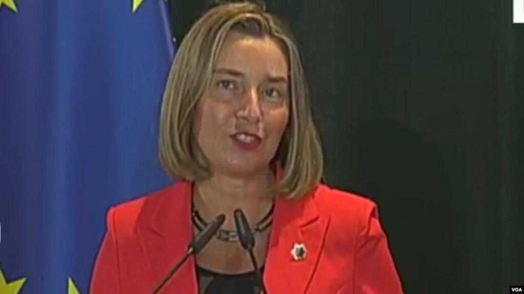 Mogherini: Shqipëria e arriti rezultatin me bashkëpunim qeveri – opozitë