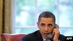 Obama Erdoğan'la Telefonda Görüştü