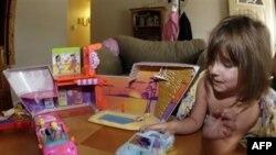 В китайских игрушках обнаружены опасные вещества