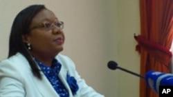 Júlia Ferreira, Porta-Voz da CNE de Angola
