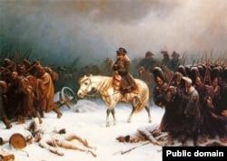 Napoleon in Russia.
