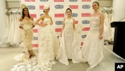 2018 Toilet Paper Wedding Dress Contest Finale Presented by Quilted Northern