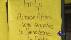 非裔美国人向西非提供救援物资