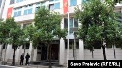 ARHIVA - Zgrada Vlade u Podgorici (Foto: RFE/RL/Savo Prelević)