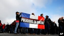 Overstretched Officers Stage Protests in France