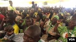 FILE: Abalandeli bebandla leZanu PF ababesemhlanganweni owe18th Annual People's Conference eGoromonzi, Mashonaland East, Zimbabwe.