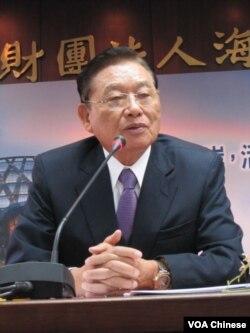 台湾海基会董事长 江丙坤