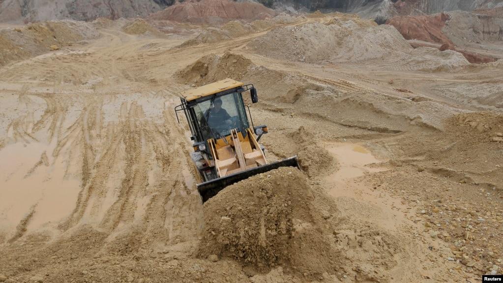 Một mỏ đất hiếm của Trung Quốc ở huyện Nam Xương, tỉnh Giang Tây