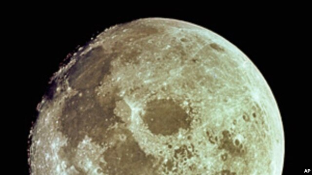 Full Moon as seen from Apollo 11 (1969)