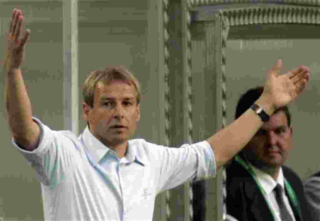 Jürgen Klinsmann, nuevo entrenador de EE.UU.