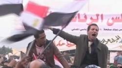 示威者在开罗塔利尔广场再次大集会