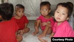 올해 8월 북한 황해남도 해주 고아원의 아이들. (미션 이스트 제공)
