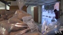 北达科他州难民回馈社区 温暖了冬夜