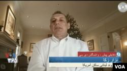 آقای زکا خود به تازگی از ایران آزاد شد.