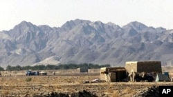 ຖານທັບອາກາດ Shamsi ໃນແຂວງ Baluchistan ຂອງປາກິສຖານ ຊຶ່ງສະຫະລັດໄດ້ຖອນອອກໄປໃນວັນອາທິດ ທີ 11 ທັນວາ, 2011 ນີ້. (File Photo)