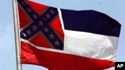 Le drapeau confédéré, symbole pour beaucoup d'Américains de racisme et de l'esclavage (AP Photo/Rogelio Solis)