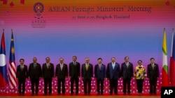 ထုိင္းႏုိင္ငံ၊ ဘန္ေကာက္ၿမိဳ ႔မွာ က်င္းပတဲ့ အေရွ ႔ေတာင္အာရွနုိင္ငံမ်ားအသင္း ASEAN ရဲ့၃၄ ႀကိမ္ေျမာက္ ထိပ္သီးညီလာခံ (ဇြန္၊ ၂၂၊ ၂၀၁၉)