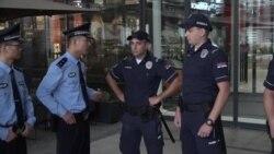 Patrullim i përbashkët mes policëve serbë dhe kinezë në Beograd