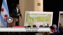 Obama prezidentlik kutubxonasi rejasini taqdim etdi