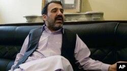 被刺身亡的卡爾扎伊總統同父異母弟弟瓦利‧卡爾扎伊(資料圖片)
