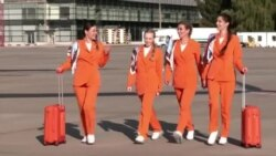 Ukraine Airline Updates Work Clothes for Female Flight Attendants