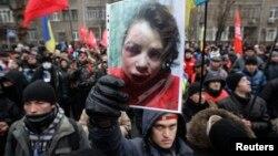 Киев. Украина. 25 декабря 2013 г.