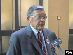 美国前交通部长诺曼.峰田
