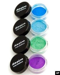 Samina pure mineral makeup - eye shadows