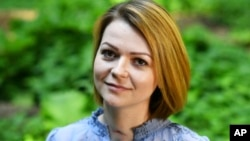 Yulia Skripal poses for the media during an interview in London, May 23, 2018.