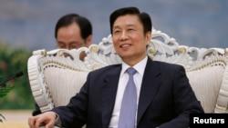 리위안차오 중국 부주석 (자료사진)