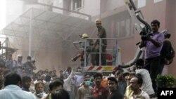 ინდოეთში საავადმყოფოს ხანძარმა 89 ადამიანი იმსხვერპლა