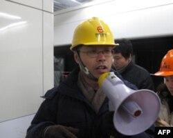 13号线地铁世博段工程部经理廖雄华